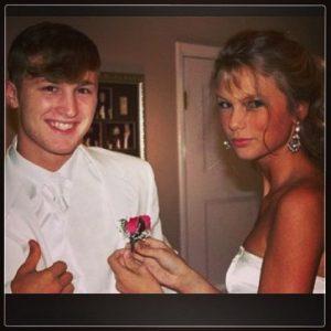 Taylor Swift and Brandon Borello