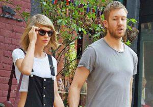 Taylor Swift and Calvin-Harris